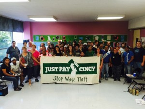 Just Pay Cincy, Community Meeting, August 2015