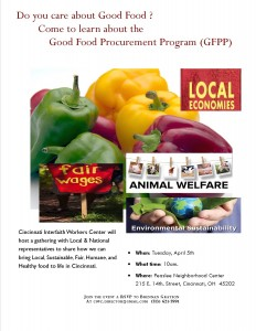 Good Food Movement Comes to Cincinnati, 4-5-16, Peaslee Neighborhod Center)
